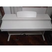 Piano Eletronico Digital Ark-8892 Branco Seminovo - Promoção
