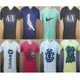 Kit 10 Camisetas Gola V Estampadas Promoção Valida Só Hoje