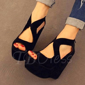 Zapato/plataforma Tacón #10, Excelente Calidad