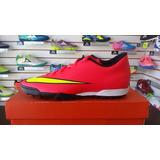 Nike Mercurial Vortex Ii Turf Rojo Envío Gratis