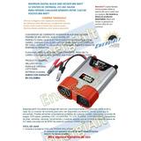 Conversor Inversor Cargador Black Decker Carro 12v110v 1600w