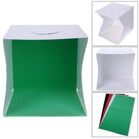 Mini Estudio Plegable Led / Caja De Luz 42*42*40cm