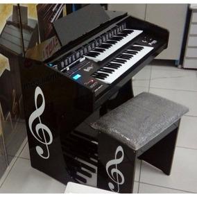 Orgão Eletrônico Phinker Exclusive Preto Brilho - Loja Jubi