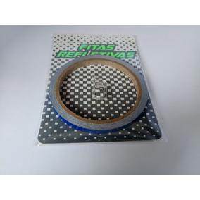Friso Adesivo 7mm Refletivo P/ Motos E Carros (cor Azul)