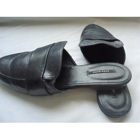 Zapatos Planos Destalonados Zara Talla 25 Mex.