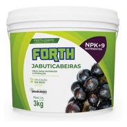 3kg Forth Jabuticabeiras Adubo Fertilizante Jabuticaba