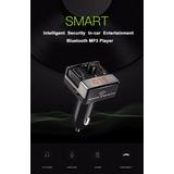 Transmisor Fm Bluetooth Mod. A7, Manos Libres, 2 Usb, Mp3,