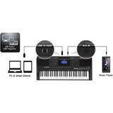 Piano Digital Yamaha Psr E453 Usb + Estuche + Base Nuevos Or