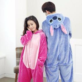 Pijama-disfraz De Stitch Mujer-hombre-niños