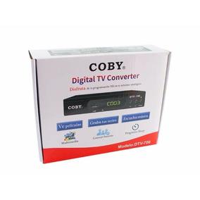 Decodificador Digital Coby Dtv-700, Sintoniza Tv Abierta