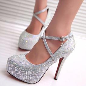 Lindo Sapato Feminino Importado Madrinha