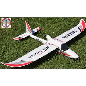 Aeromodelo Eletrico Sky Surfer Blitz 4 Canais Completo