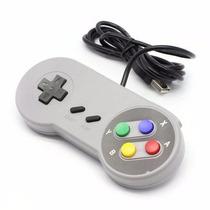 Controle Usb Super Nintendo Snes Joystick Aladin Contra 3