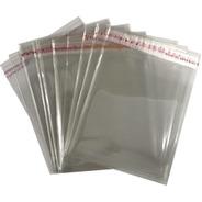Saco Adesivado Plastico Transparente 6x12 C/4.000un