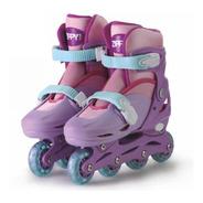Roller Patins Infantil In Line Ajustável 30-33 Feminino