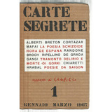 Carte Segrete. Nº 1. Enero Marzo 1967. Revista Arte Y Letras