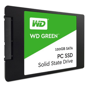 Ssd Wd Green 120gb 2,5 7mm Sata 3 - Wds120g1g0a