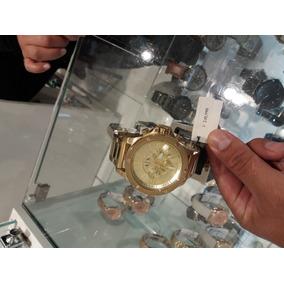 Reloj Armani Exchange Enchapado En Oro