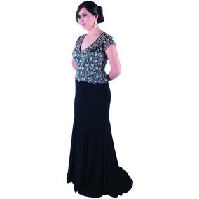 Vestido de noche senora