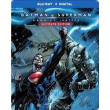 Blu-ray Batman V Superman Dawn Of Justice Ultimate Steelbook