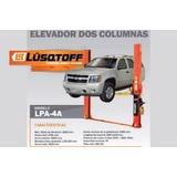 Elevador Para Autos Dos Columnas 4000 Kg. Lusqtoff