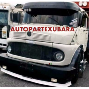 Spoiler P/envolvente Mercedes Benz 1114 Linea Nueva- Fibra