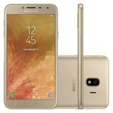 Celular Samsung J400m Galaxy J4 Dourado 32 Gb