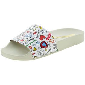 03db3582f Leader Calcados Homem Sapatos Feminino Chinelos Moleca - Chinelos no ...