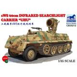 Bronco 1/35 Blindado Com Luz Infra-vermelho Sws 60cm Uhu