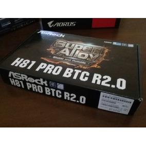 Tarjeta Madre Asrock H81 Pro Btc R2.0 Lga 1150 6 Gpu