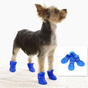 Botas Impermeables Para Lluvia Perro Raza Chica Envío Gratis
