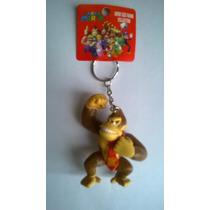 Chaveiro Super Mario Bross - Donkey Kong A Pronta Entrega