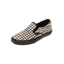 Superga - Tenis Slip On Negro - Beige - Sgw0110