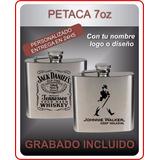Petaca De Whisky Grabado Con Laser Regalo Pesrsonalizado