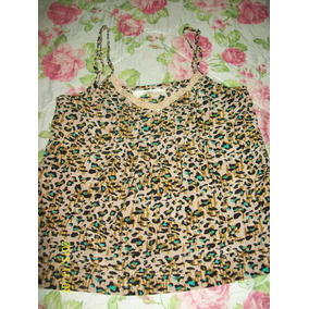 Musculosa India Style Animal Print