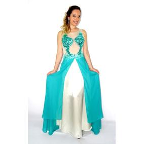 Vestidos de moda color verde agua