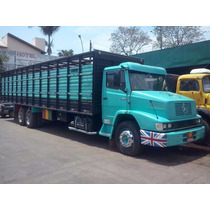 Mercedes Benz Mb 1418 Boiadeiro Truck Gaiola