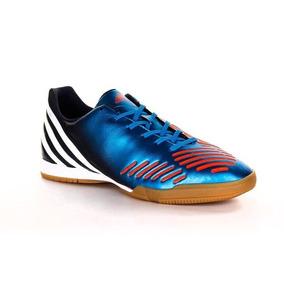 Chuteira Adidas - Chuteiras Adidas de Futsal para Adultos Azul no ... 169d121f3c898