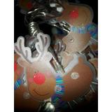 Luces De Navidad,diseño Reno De Baterias + Obsequio Navideño