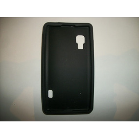 Protector Silicon Case Lg Optimus L5x Color Negro!