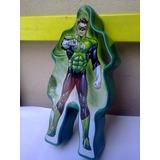 Box Porta-trecos Lanterna Verde 20cm
