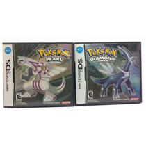Pokemon Pearl + Diamond Version - Ds / 3ds - Raridade !!!