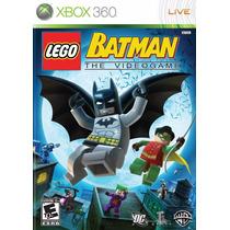 Lego Batman 1 The Videogame - Xbox 360 Original