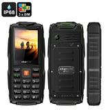 Telefono Celular Uso Rudo Ip68 Triple 3 Sim Vkworld Stone V3