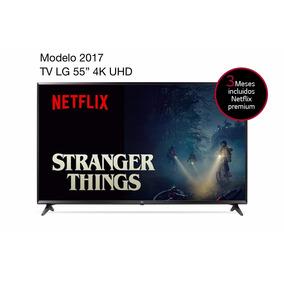 Led Lg Smart Tv 55 Pulgadas 4k Webos 3.5, Hdr Pro 2017