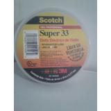 Teipe Electrico De Vinilo Super 33 / 3m 0riginal Made In Usa