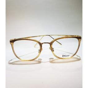 Óculos De Grau Redondo Dior - Óculos De Grau no Mercado Livre Brasil ab49b07ad3