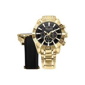 Relogio Technos Cronógrafo Troca-pulseiras Os2aajac/4p