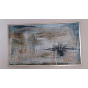 Quadro Tela Acrilico Abstrato 1,70x1,00