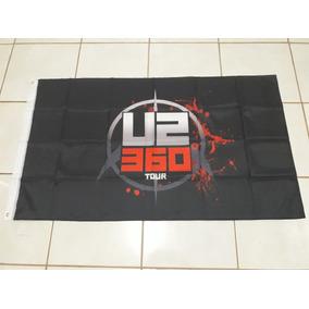Bandeira U2 360 Tour (100% Poliéster) 90x150 Cm - Importada